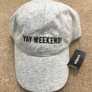 YAY WEEKEND! NWT Express Hat